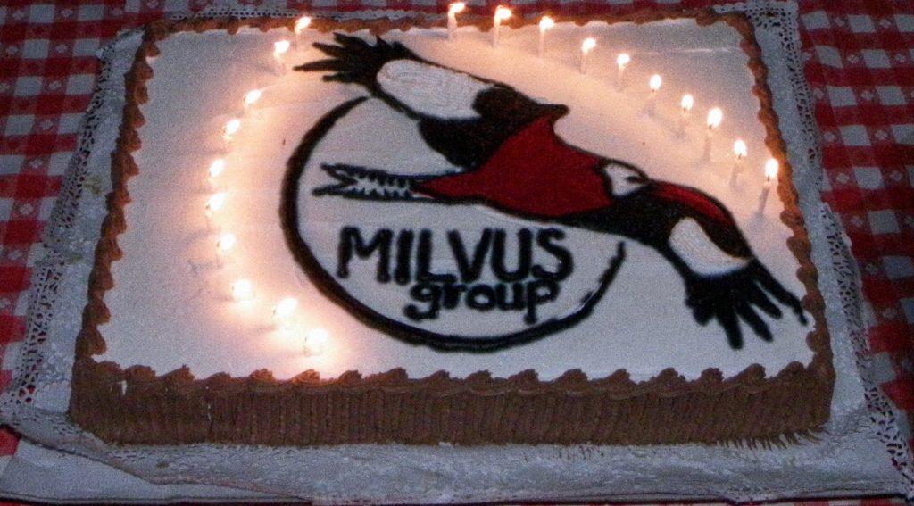 În 2011 Grupul Milvus a împlinit 20 de ani