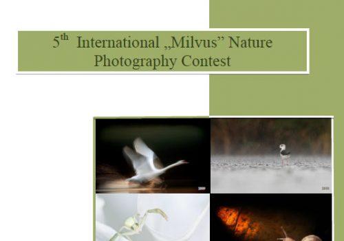"""Al V-lea concurs internațional de fotografie de natură """"Milvus"""""""