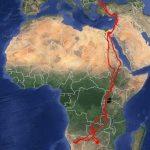 Arlie migration route