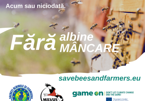 """""""Salvați albinele și fermierii!"""""""